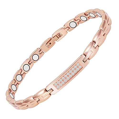 Magnetic Anklet Ankle Bracelets Women's Pain Relief for Arthritis with...