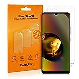 kwmobile 3x pellicola salvaschermo compatibile con samsung galaxy a42 5g - film protettivo proteggi telefono - protezione antigraffio pellicola display smartphone