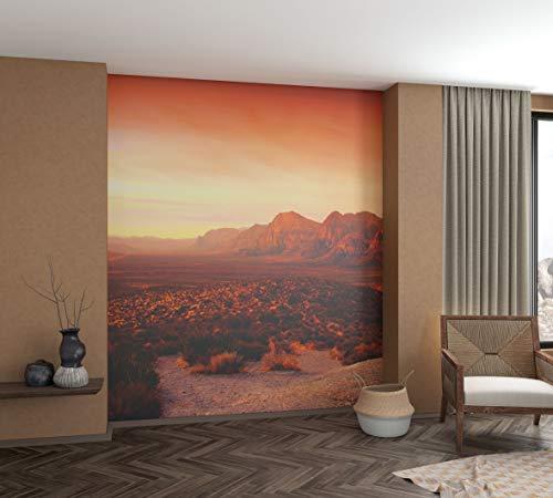 marburg Fototapete XXL Orange Rot Motiv Natur Tapete für Schlafzimmer Wohnzimmer oder Küche 100% Made in Germany PREMIUM QUALITÄT 2,70m x 2,12m 32548