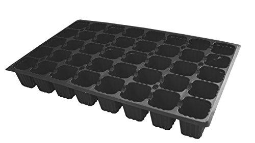 Flower 90064-Bac à semis - Noir - 40 cavités