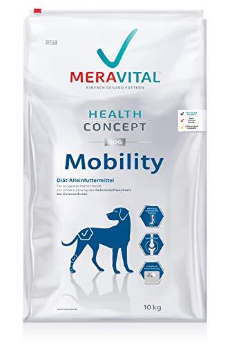 MERAVITAL Mobility Hundefutter trocken 10 kg - entzündungshemmendes Trockenfutter zur Unterstützung der Gelenkgesundheit