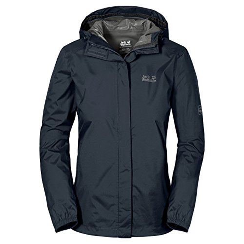 Jack Wolfskin Damen Hardshelljacke Cloudburst, night blue, XL, 1104942-1076005
