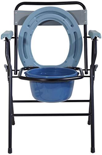 Aidapt VR252F Aufklappbare Toilettenstuhl, Blau