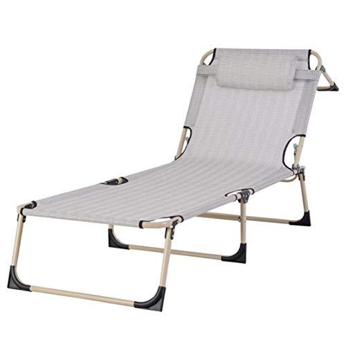 opvouwbare campingstoel Ligstoelen Stoel Koel Ademend Eenvoudig Opklapstoel/Kantoor Siësta Lichtgewicht Opklapbed/Draagbaar Buiten Recliners Strand