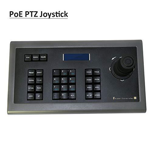 LEFTEK POE PTZ 4D Joystick Controller Netzwerk Tastatur für Onvif IP PTZ Überwachungskameras
