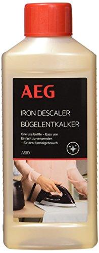 AEG ASID Bügelentkalker (Reinigungszubehör für Bügeleisen und Dampfbügelstationen, Entkalker 250 ml, einfache Anwendung im Kaltzustand)
