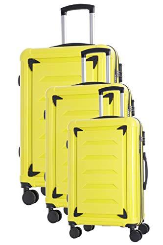 Renoma - Juego de maletas Amarillo amarillo S, M, L