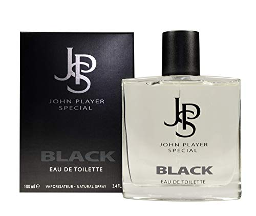 JPS BEAUTE JPS Black EDT Vapo 100 ml, 1er Pack (1 x 100 ml)
