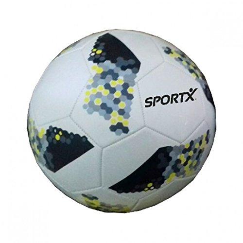 SPORTX Fußball 21 cm weiß