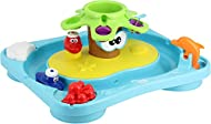 The entire island floats in the bath tub, and a variety of engaging features start to introduce kids to early STEM concepts like water power and cause and effect Tons of activities for hours of fun and creativity Fill the trunk with water and watch t...