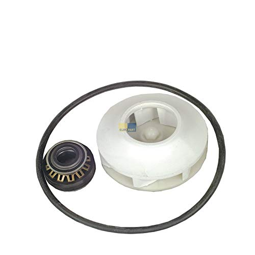 Dichtung Pumpen-Dichtsatz Wellendichtung Umwälzpumpe Spülmaschine Bosch Siemens 165813