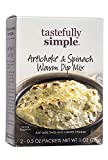 Tastefully Simple Artichoke & Spinach Warm Dip Mix - Add to Pizza or Pasta Sauce, Mix in Mac and...