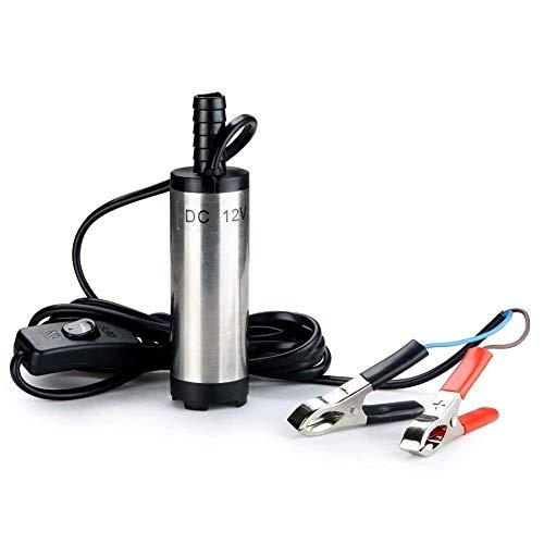 Kingkindsun 12V 38mm Submersible Pump Water Oil Diesel Fuel Transfer...