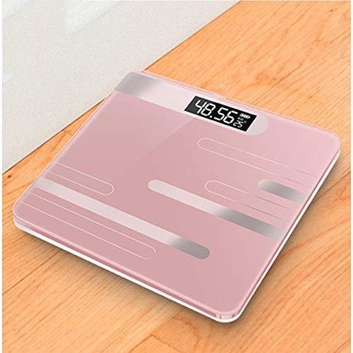 Nieuwe intelligente elektronische personenweegschaal personenweegschaal USB-oplaad-LCD-display digitale Home weegschaal D.