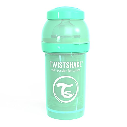 Twistshake 78251 - Biberón, color pastel verde