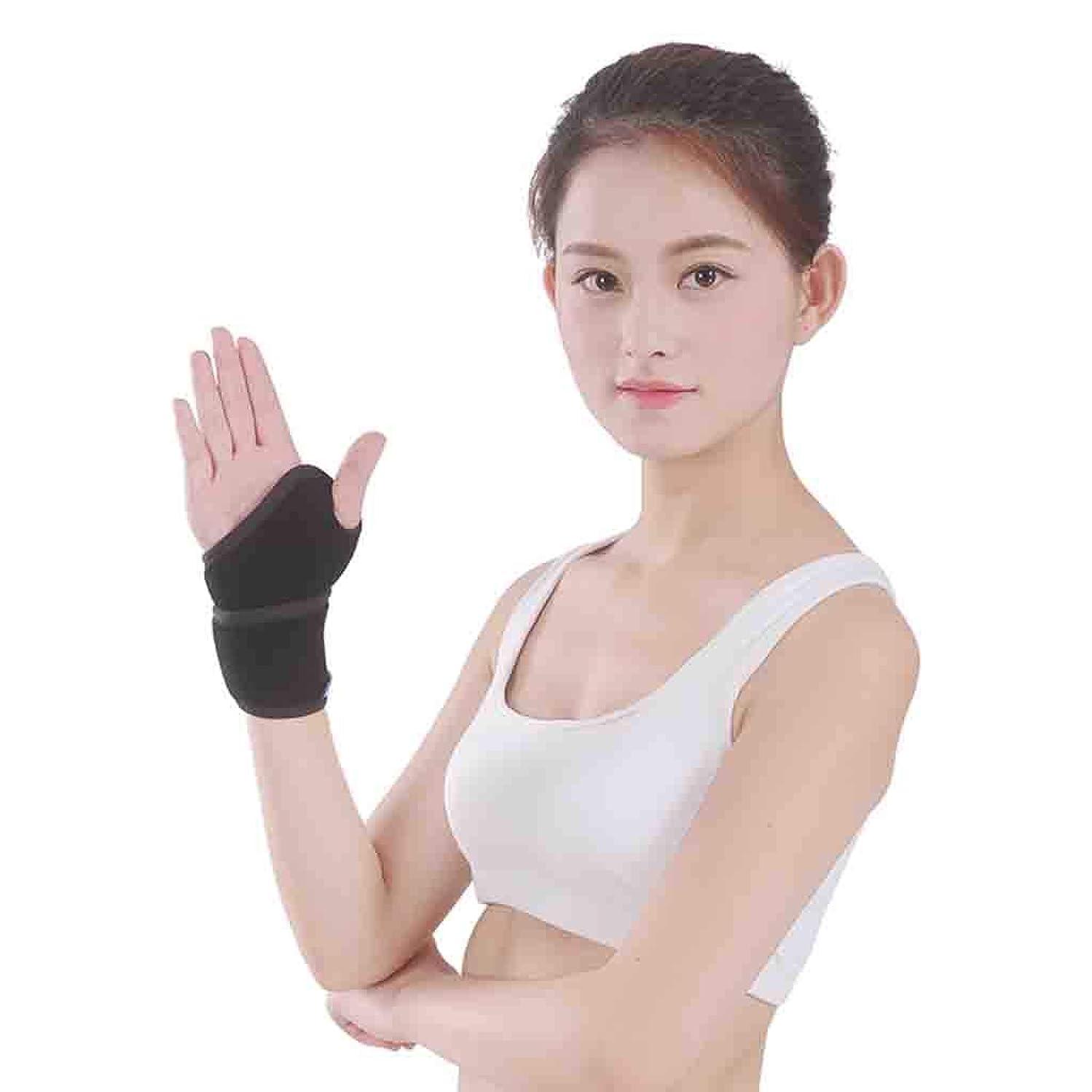 ヘルパー努力するキャプション関節炎のための親指のスプリントベージュの親指のブレース関節炎や軟組織の傷害、軽量と通気性のための腱膜炎のリストバンド Roscloud@