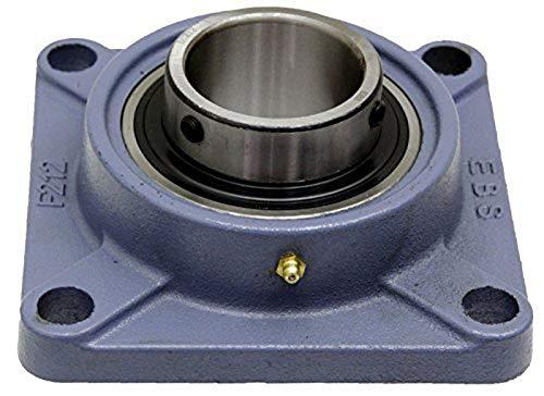 DOJA Industrial | Lager mit Halterung UCF 203 | Kugellager für 17 mm Achse | Hauptsächliche Einsatzbereiche: Fräsmaschinen, 3D-Drucker, Bastelarbeiten