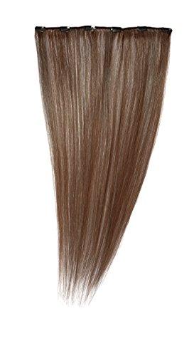 Love Hair Extensions - LHE/A1/QFC12/22/30 - 100 % Cheveux Naturels - Barrette Unique Extensions à Clipper - Couleur 30 - Topaze - 56 cm