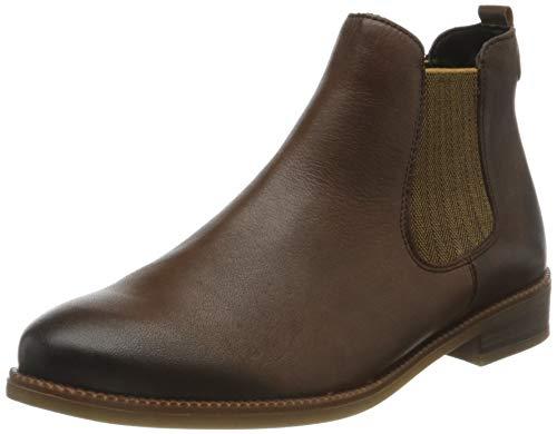 Remonte Damen R6375 Chelsea-Stiefel, Mokka/Mustard/Mokka / 25, 44 EU