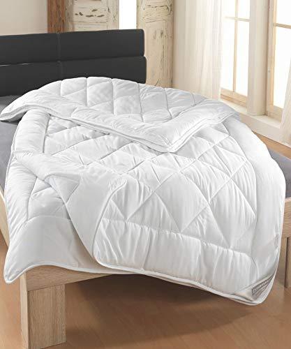 Dreamhome 4-Jahreszeiten 2 Bettdecke 200x220 die Man mit Druckknöpfe eine Winter oder Sommer Oberbett Steppdecken 200 x 220