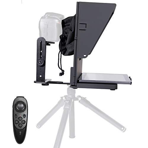 KEAYISOFINE Q2 高画像テレプロンプター、スマホ、Padと一眼レフカメラでの生放送対応