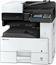 Kyocera 1102P22US0 Model ECOSYS M4125idn Monochrome A3 MFP Multi-Function Laser Printer (Print/Scan/Copy/Fax), 25 ppm B&W, Resolution 600 x 600 dpi Up To Fine 1200 x 1200 dpi, Duplex, HyPAS Capable