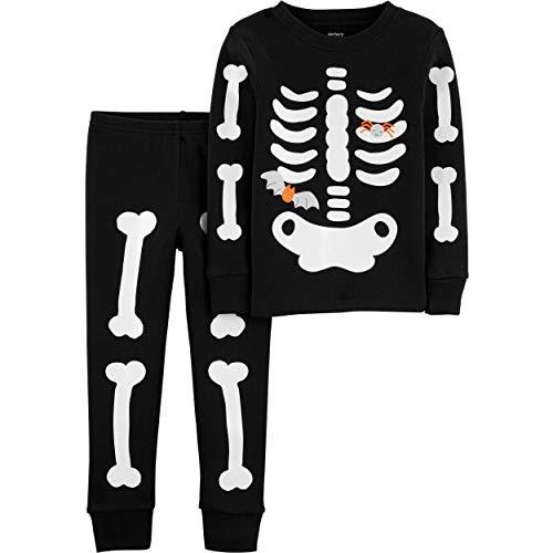 Carter's Baby Boys' 12M-24M 2 Piece Glow-In-The-Dark Snug Fit Cotton Halloween...
