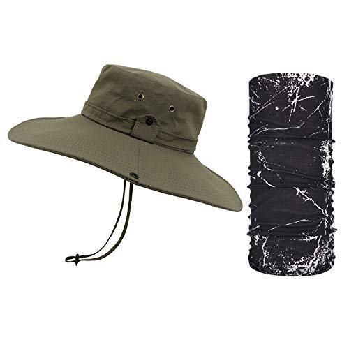 TAGVO Chapeaux de Pêche à Large Bord, Protection...