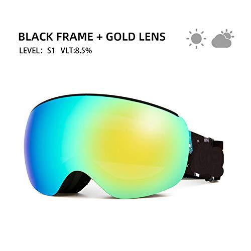 Professionelle Kinder-Skibrille Anti-Fog Frameless Ski Eyewear Winddichte Sportausrüstung...