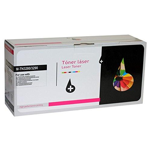 Acan Tóner Láser Compatible con Brother TN3280 TN3290 Negro