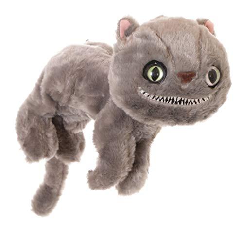 LB-218-1 Grau Grusel grinsend Katze Horror Cat Plüsch Tasche Lolita Pastel Goth