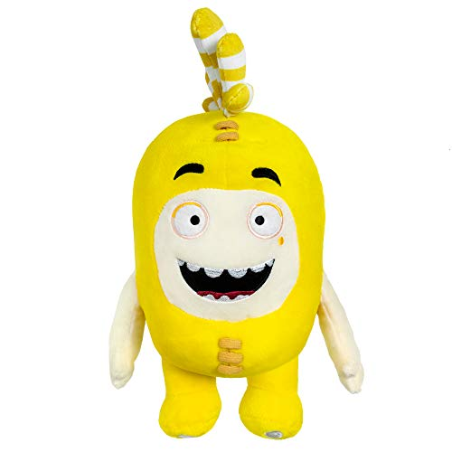 """Oddbods Bubbles Soft Stuffed Plush Toys — for Boys and Girls — Yellow (12"""" Tall)"""
