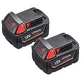 2-Pack High Output 6000Ah M-18 Battery...