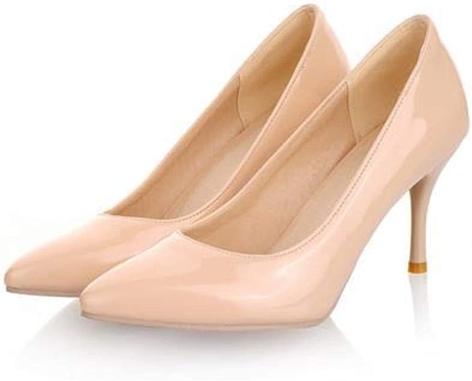 Big Size 2019 high Heels Women Pumps Thin Heel Classic nede Sexy Prom Wedding shoes