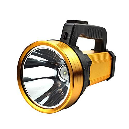 LIERSI Antorcha LED De Mano, Súper Brillante, Potente, Alemán, Linterna Recargable, Foco De Foco, Impermeable para El Acampar Emergencia