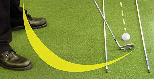 Longridge Tour Rodz Alignment Sticks Golf Practice Aid - Orange
