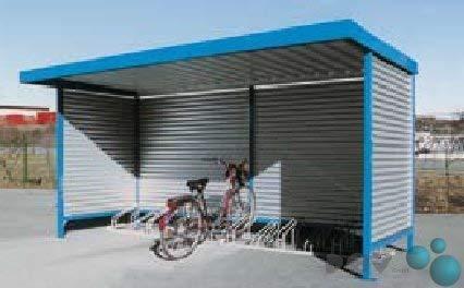 POV® Fahrradüberdachung Modell Leipzig L14 Einseitig