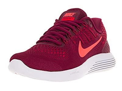 Nike Women Lunarglide 8 Running (red/Noble red/Bright Mango-Bright Crimson) Size 7.5 US