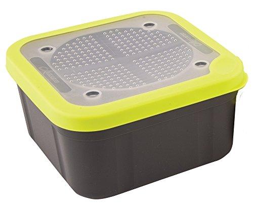 Fox Matrix Grey Lime Bait Boxes - Köderbox für Lebendköder, Madenbox, Wurmbox, Luftdurchlässige Box für Angelköder, Volumen:3.3 Pint (1.875 Liter)
