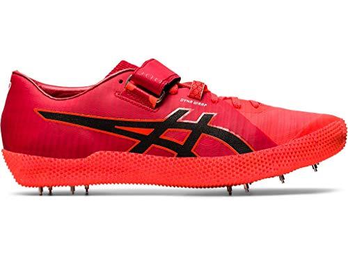 ASICS Unisex High Jump Pro 2 Track & Field Shoes, 10W, Sunrise RED/Black