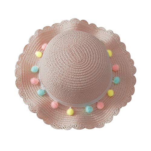 yuyuanDO 50% 0ff Chapeau Bebe Fille Chapeau De Paille 2-10ans Anti-UV Fille Enfant Eté Protection...