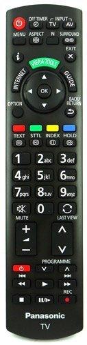 Panasonic N2QAYB000753 - Mando a distancia para televisión (compatible con TX-L32E5B, TX-L32E5E,...
