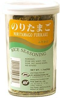 JFC Noritamago Furikake Rice Seasoning, 1.7-Ounce Jars (Pack of 4)