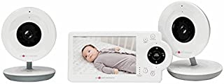 """PROJECT NURSERY PNM4N11 Dual Camera 4.3"""" Video Baby Monitor Twin Camera System"""