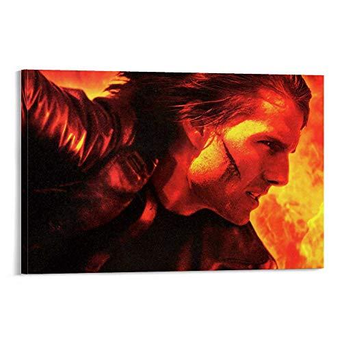 DRAGON VINES Póster de Misión Impossible Rogue Nation Ethan Hunt Tom Cruise Syndicate y pósteres en lienzo para dormitorio 30 x 45 cm