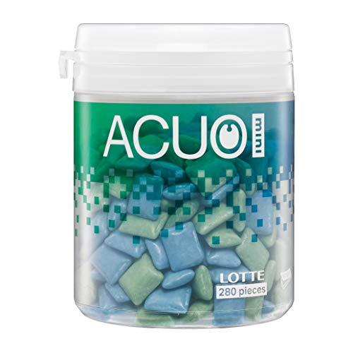 ロッテ ACUO Mini(クリアミントミックス) ファミリーボトル 140g ×6個