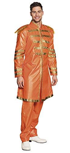 Boland-BOL83684 Disfraz de Sargento Pop para Adulto, color naranja, 50/52 (Ciao Srl BOL83684)