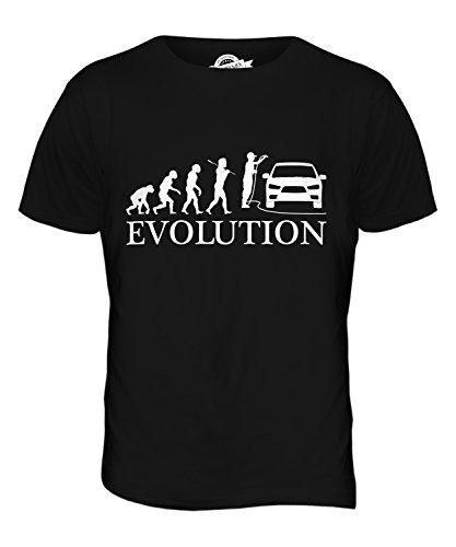 Candymix - Car Valeter Evolution of Man - Mens T Shirt Top T-Shirt