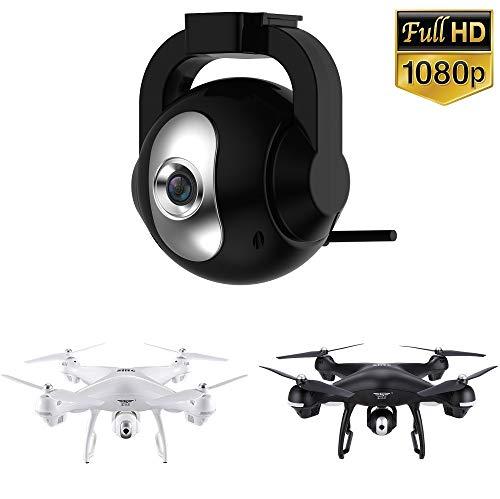 ACHICOO Verbesserte 1080P Full HD 90 ° -Einstellbare 120 ° Weitwinkel-Wi-Fi-Drohnenkamera für Holy-Stone HS100 & SIRC S70W Gag-Geschenke für Kinder