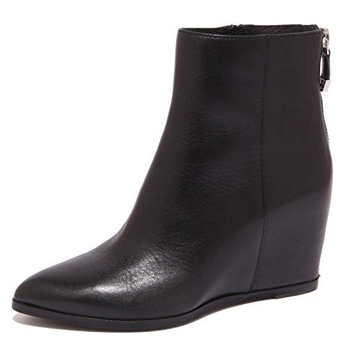 What For 8746P Stivaletto Nero Tronchetto Donna Boot Woman [35.5]